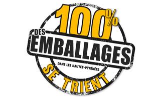 100% DES EMBALLAGES SE TRIENT DANS LES HAUTES-PYRENEES