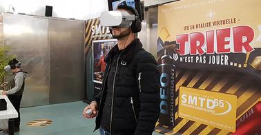 """""""Trier n'est pas jouer"""" jeu en réalité virtuelle"""