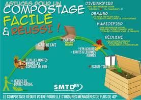 Les déchets verts ne doivent pas être déposés dans les ordures ménagères.